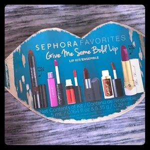 Sephora Give Me Some Bold Lip bundle 6 colors